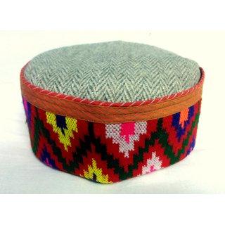 Himachali Cap(Pahari Topi) - Kullu Tweet Origional
