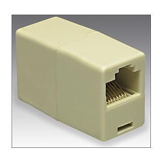 RJ45 CAT5, CAT5E, CAT6 NETWORK CABLE COUPLER JOINER EXTENDER PLUG