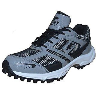 RKC Cricket Shoes Black Color