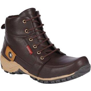 Bachini Mens Dark Brown Casual Boots