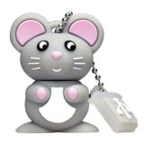 Microware Bunny Rate Mouse Shape Designer Fancy Pendrive
