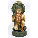 Redbag Lord Hanuman Brass Statue 4648