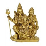 Redbag Brass Sculpture Of Lord Shiva Family 4687