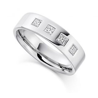 Fortune Jewel Exclusive Fashionable Diamond Ring For Wedding (Design 23)
