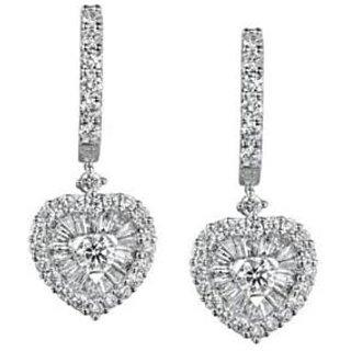 Exclusive Fashionable Diamond Earring For Wedding (Design 88)