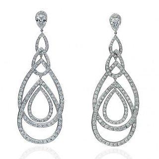 Exclusive Fashionable Diamond Earring For Wedding (Design 103)