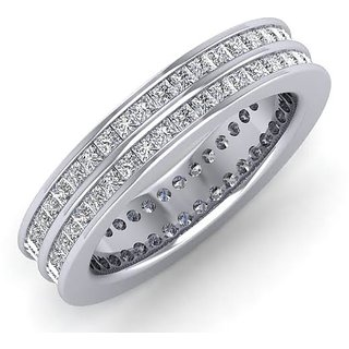 Icrjewels Brand New ICRSL19 Princess CZ Sterling Silver Ring For Woman
