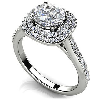 Fashionable Exclusive Solitaire Diamond Ring For Party And Wedding (Design 49)