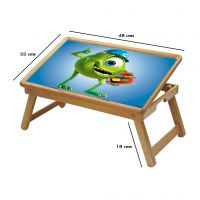 Crazy Frog Multipurpose Foldable Wooden Study Table For Kids - Study 033