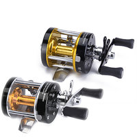 Alumium Spool One Way Cluctch Fishing Reels 1+1 Ball Bearings