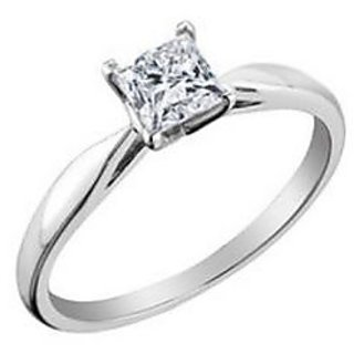 Fashionable Exclusive Princess Diamond Ring For Wedding Jewelry (Design 31)