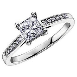 Fashionable Exclusive Princess Diamond Ring For Wedding Jewelry (Design 13)