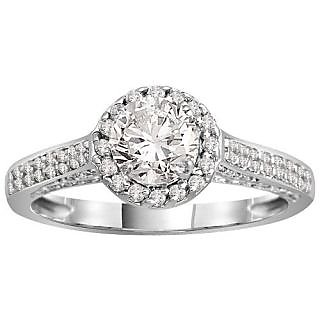 Fashionable Exclusive Solitaire Diamond Ring For Exgagement (Design 11)