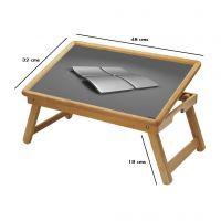 Graffiti Multipurpose Foldable Wooden Study Table For Kids - Study 053