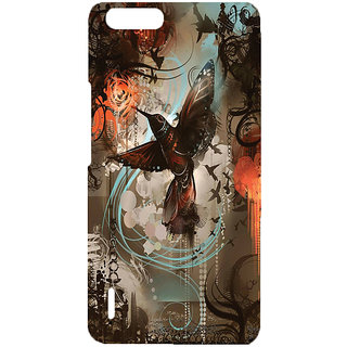 Casesia Mobile Back Cover Huawei Honor 6 Plus 11144Honor6Plus