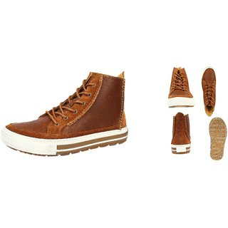 Clarks Mens Nepler Rise Boots Brown