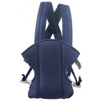 Belle Maison Cotton Adjustable Baby Carrier With Multi Carry Positions, Navy