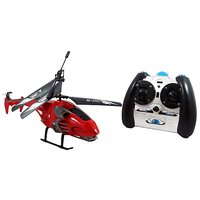 3.5 Channel Remote Control Rapid Fire Helicopter - Red