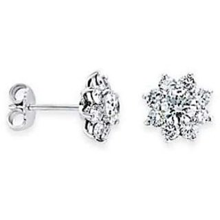 Exclusive Fashionable Diamond Earring For Wedding (Design 41)