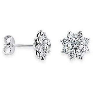 Exclusive Fashionable Diamond Earring For Wedding (Design 41)