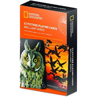 National Geographic 52 Picture Playing Cards - Brilliant Birds
