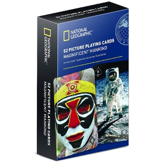 National Geographic 52 Picture Playing Cards - Magnificent Mankind