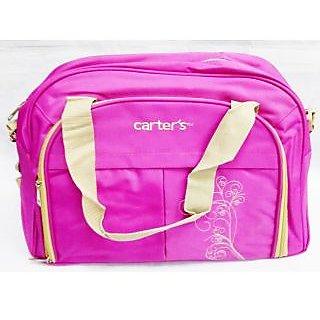 WonderKart Carters Multi Purpose Premium Diaper Shoulder Bag - Pink