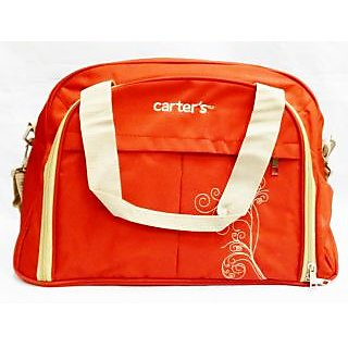WonderKart Carters Multi Purpose Premium Diaper Shoulder Bag - Red