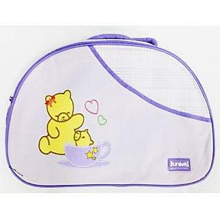 WonderKart Juniors Multi Purpose Premium Diaper Shoulder Bag - Purple