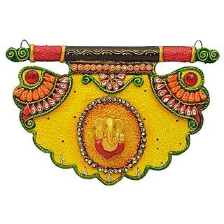 Shiva arts paper mache Key holder