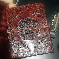 Hand Made Leather Cover Diary (CPD60)