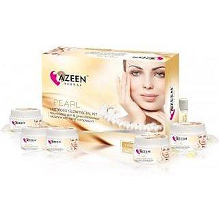 Azeen Herbal Pearl Lustrous Glow Facial Kit