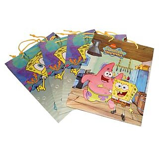 FANCY GIFT  BAG (Sponge Bob)