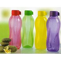 Kitchenkraft Aquasafe Multicoloured Water Bottles - Set Of 4 Pcs.