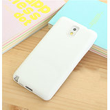 KolorFish ISimple Thin Silicone Back Case Cover Samsung Galaxy Note 3 (White)