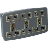 Conversion Plug- 5 Amp-Multi Plug Sockets-3 Pin