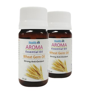 Buy 1 Get 1 Free Healthvit Aroma Wheat Germ Essential Oil 30ml