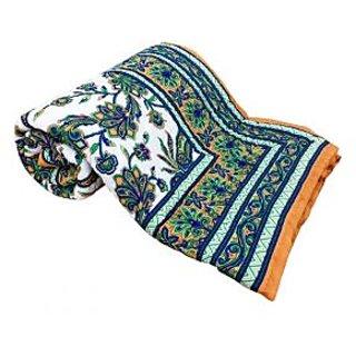 Shop Rajasthan 100 Cotton Jaipuri Lightweight Double Bed Quilt (Srl2176)