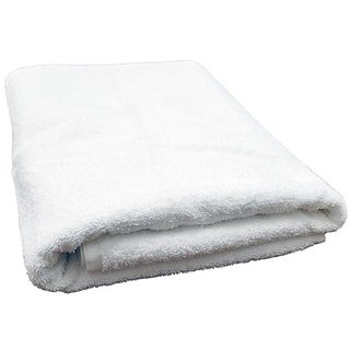 Towel - Bath Towel - Cotton Bath Towels - Solid White Color Bath Towel