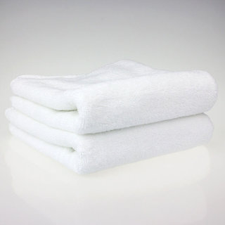 marwal plain white full size 2 bath towel