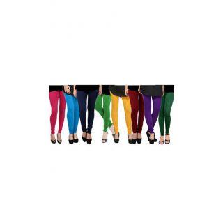 Getkot India Multi Colors Cotton Leggings