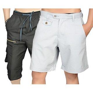 True Fashion Multicoloured Cargo Shorts Sacarccc03