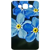 Water Flowers Forget Me Not Back Cover Case for Samsung Galaxy S3 / SIII / I9300