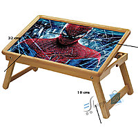 Spiderman Multipurpose Foldable Wooden Study Table For Kids - Study 1015