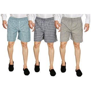 Men Boxer Shorts Set Of 3