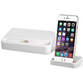 New Imported Charging Dock / Data Sync - For IPhone 5/5s/6/6 plus - White