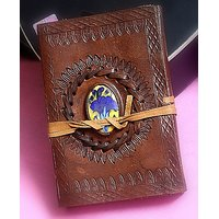 Hand Made Leather Cover Diary (CPD81)