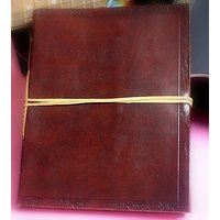 Hand Made Leather Cover Diary (CPD85)