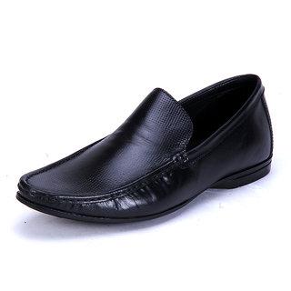Franco Leone Black Formal Shoes
