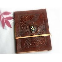 Hand Made Leather Cover Diary (CPD89)